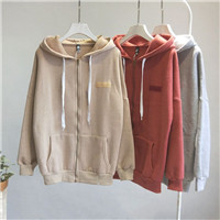 Mooirue-Casual-Sweatshirt-Women-Pockets-Zipper-Harajuku-Streetwear-Solid-Thick-Sanding-Hoodies-Plus-Size-Cotton-Pullover