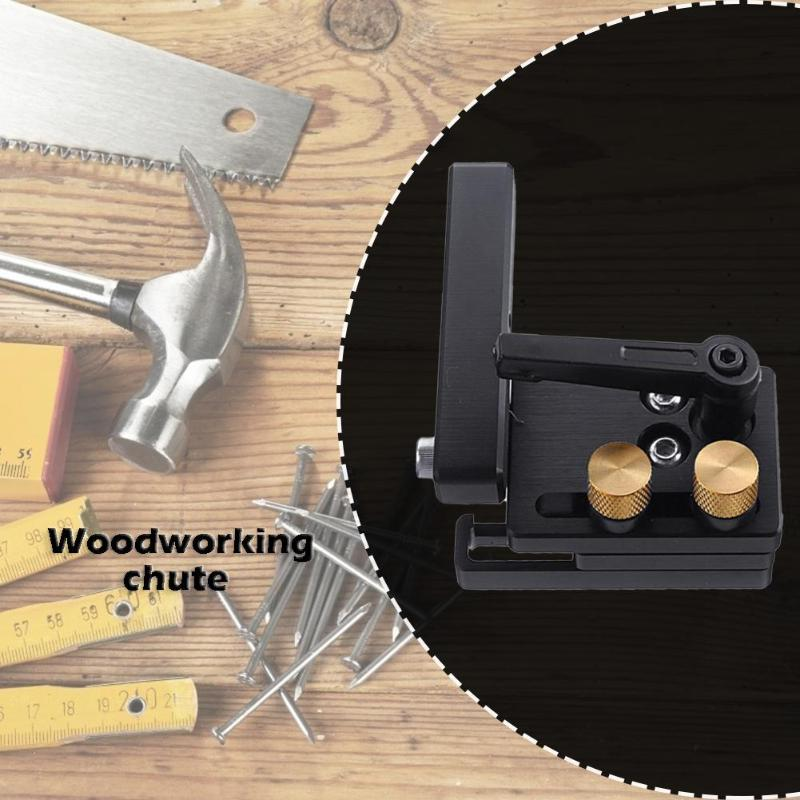 Aluminum Alloy Slot Miter Track T-slot Miter Track With Scale Woodworking Tool Simple Structur Strong Clamping Ability