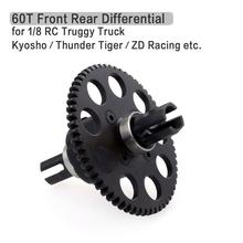 60T M1 Front Rear Differential for 1/8 RC Car Truggy ZD Racing 8156 Kyosho Thunder Tiger