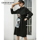CHEERART Winter Blac...