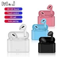 Air I12 Pro Tws Bluetooth Draadloze Hoofdtelefoon Waterdichte Oortelefoon Met Opladen Case Sport Handsfree Headset Voor Apple Xiaomi