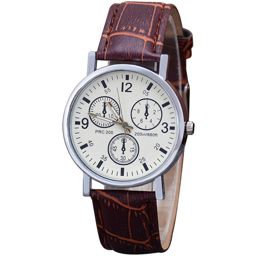 Мужские часы, мужские модные спортивные часы, часы из нержавеющей стали с кожаным ремешком, кварцевые деловые наручные часы, мужские часы 2021|Кварцевые часы| | АлиЭкспресс
