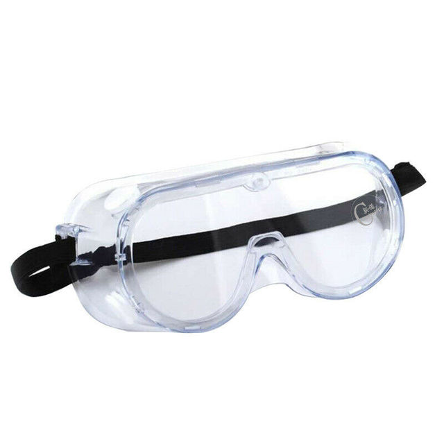 Anti-viru Safety Goggles Over Glasses Soft Clear PC Transparent Protective Cap Plastic Anti-fog Saliva Hat Full Face Shields 3