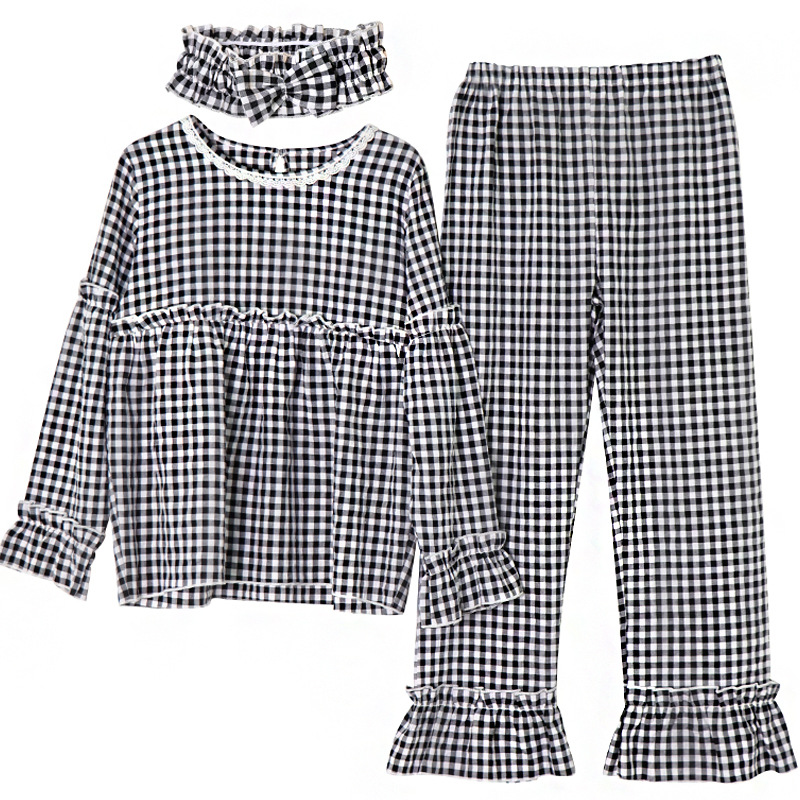 2 Pieces Nursing Pyjamas Breastfeeding Maternity Pijama Cotton Floral Pregnancy Clothes Nightwear Hospital Sleepwear 2 In