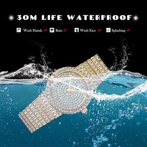 Image 4 - MISSFOX брендовые уникальные часы для мужчин 7 мм Ультра тонкие 30 м водостойкие ледяные круглые дорогие 34 мм тонкие наручные мужские часы 2562