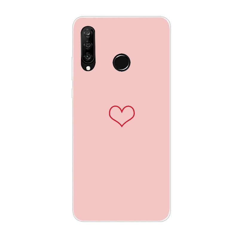 Di lusso Morbido Custodie per Huawei P30 Pro 30Pro P20 Lite Della Copertura di Caso per Huawei Mate 10 Pro Compagno di 20 Lite caso Della Copertura Del Silicone