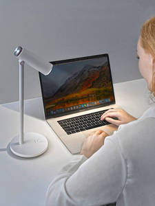 Baseus Desk-Lamp Reading-Light Table Eye-Protection Work-Study Usb-Rechargeable Stepless