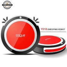 2019 Hot sell Robot Vacuum Cleaner for Home Automatic Sweeping Dust Sterilize Smart Planned Wash Mop three color can choose цена