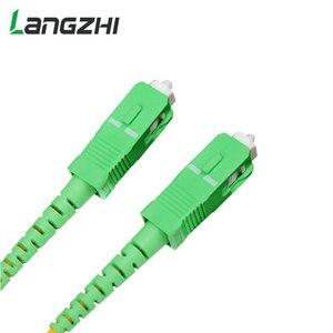 Image 5 - 10 sztuk/worek Sc Apc 3m Simplex tryb światłowodowy kabel krosowy Sc Apc 2.0mm lub 3.0mm włókien światłowodowych Ftth kabel Jumper