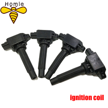 4Pcs High Quality Car Ignition Pencil Coil OEM PE2018100 H6T61271 For Mazda CX-5 2012-2015