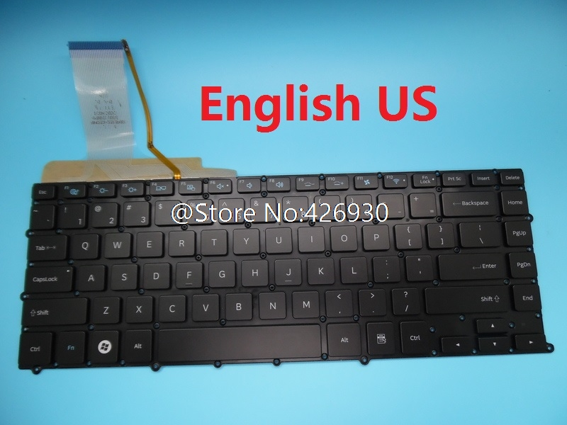 Keyboard For Samsung NP900X4B NP900X4C NP900X4D 900X4B 900X4C 900X4D Brazil BR SL Spain SP Canada Germany GR Thailand TI Backlit