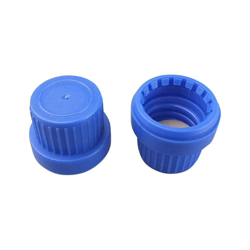 Experimental Consumables Generic PP Bottle Caps 40pcs Laboratory Supplies 25x21mm Reagent Bottle Lids Plastic Leakproof Cover
