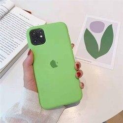 Para apple 12 caso para iphone12 silicone líquido pacote completo para iphone 12promax