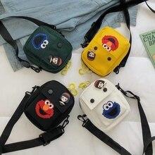 Canvas Woman Bag Summer Luxury Handbags Women Bags Designer Cartoon Shoulder Crossbody mini Small