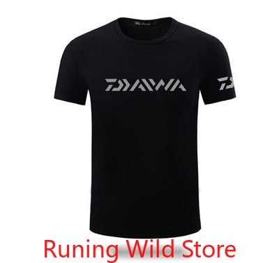 DAIWA 2020 Spring Summer Fishing Shirts Fishing Clothing Short Sleeve Quick Drying Breathable Anti UV Sun Protection Clothes|Fishing Clothings| |  - title=