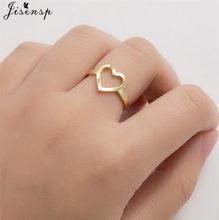 Koreański moda miłość w kształcie serca pierścienie dla kobiet dziewczyn biżuteria zaręczynowa Vintage otwarty regulowany pierścień Bijoux Femme