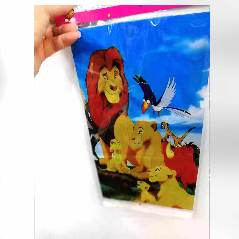 81 ชิ้น/ล็อต Lion King disposable tableware Lion King ทิ้งถ้วยจานผ้าเช็ดปากผ้าปูโต๊ะ Lion King party ตกแต่ง