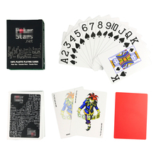 Poker Playing-Cards Board-Games Entertainment Plastic Waterproof Family 1 Polish Dull