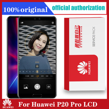 Original 6.1 Display Replacement for Huawei P20 Pro LCD Touch Screen Digitizer + fingerprint CLT L09 CLT L29 CLT AL01
