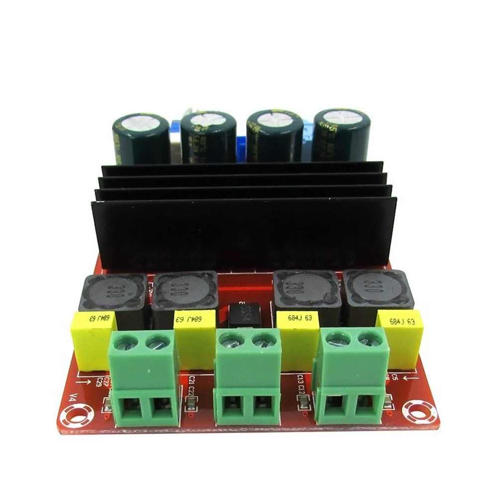 100W * 2 TPA3116D2 Amp Amplifier Digital Audio Power 2.0 Saluran Tpa3116 Kelas D HIFI Stereo Amplifier Papan DC12-24V