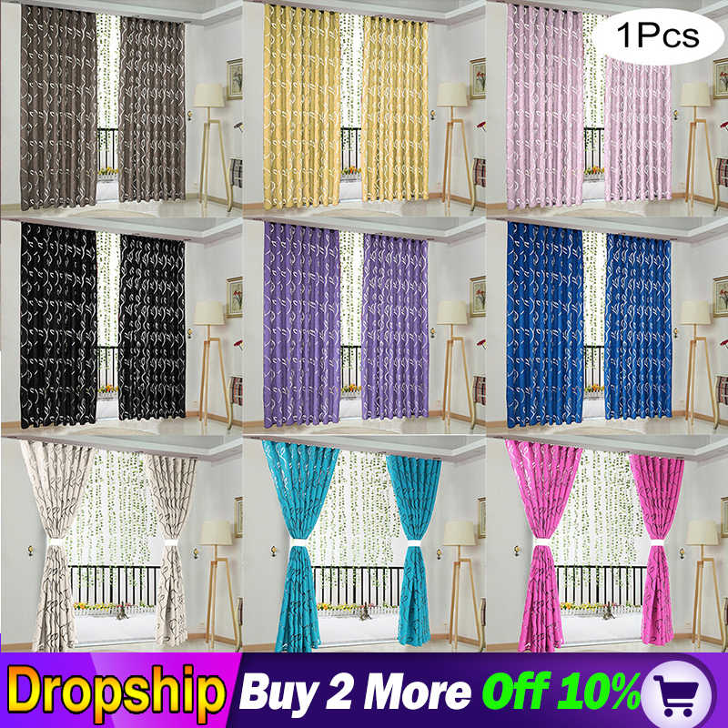 NEW European and American style Vines Leaves Tulle Door white Window Curtain Drape Panel Sheer Scarf Valances decoration Room