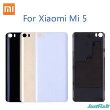 Funda trasera de plástico para Xiaomi mi 5, repuesto de carcasa trasera para Xiaomi Mi5 Mi 5 M5