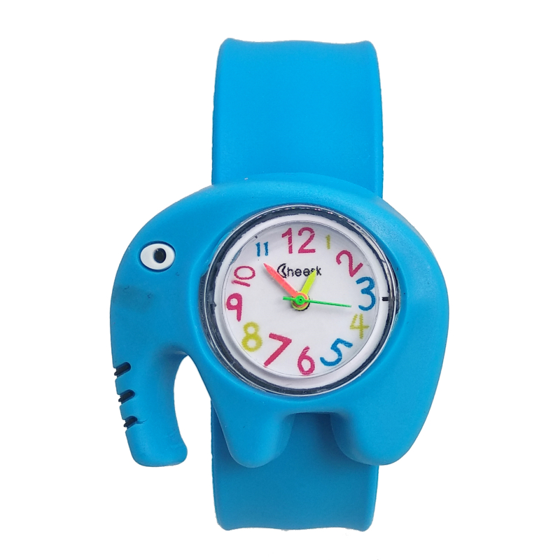 High Quality Elephant Patted Children Watches Boys Girls Baby Christmas Gifts Digital Watch Kids Birthday Gift Electronic Clock