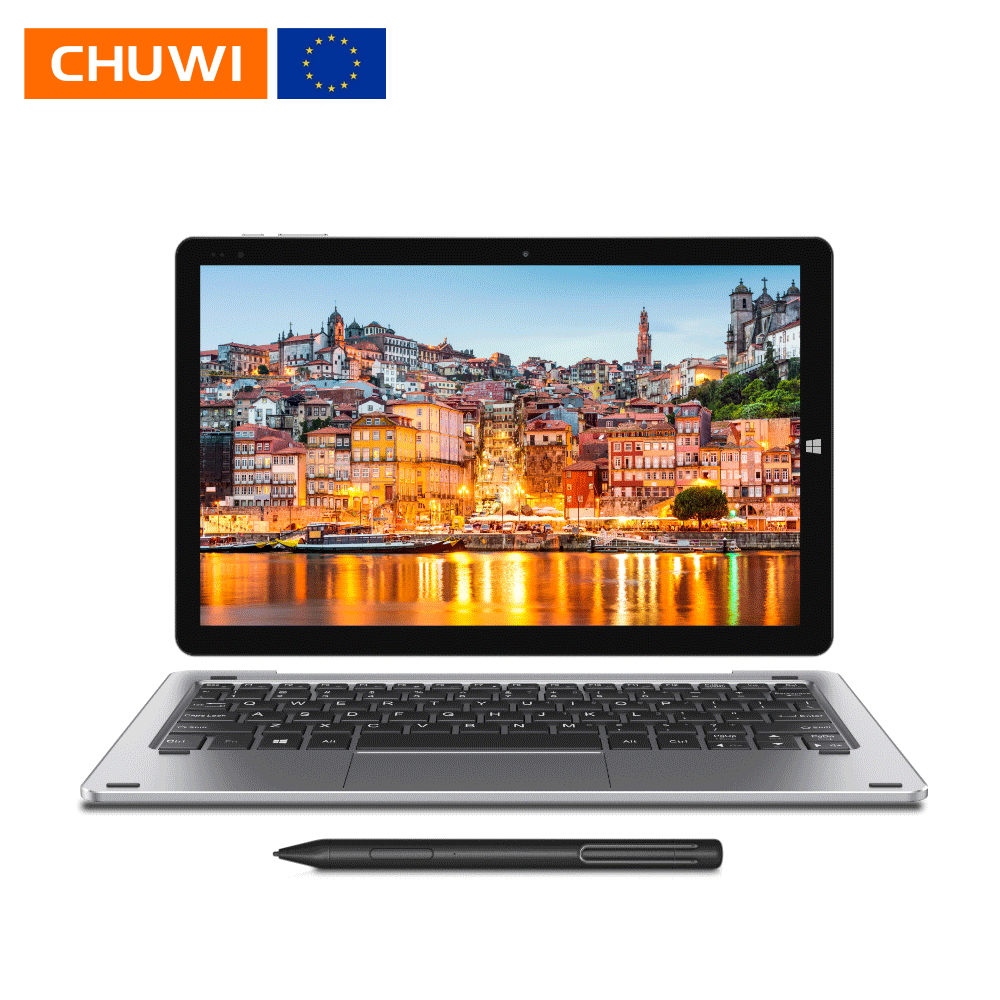 CHUWI Tablet PC Bluetooth Quad-Core Metal N4100 Hi10-X-Intel Windows 10 Ips-Screen 6gb 128gb title=