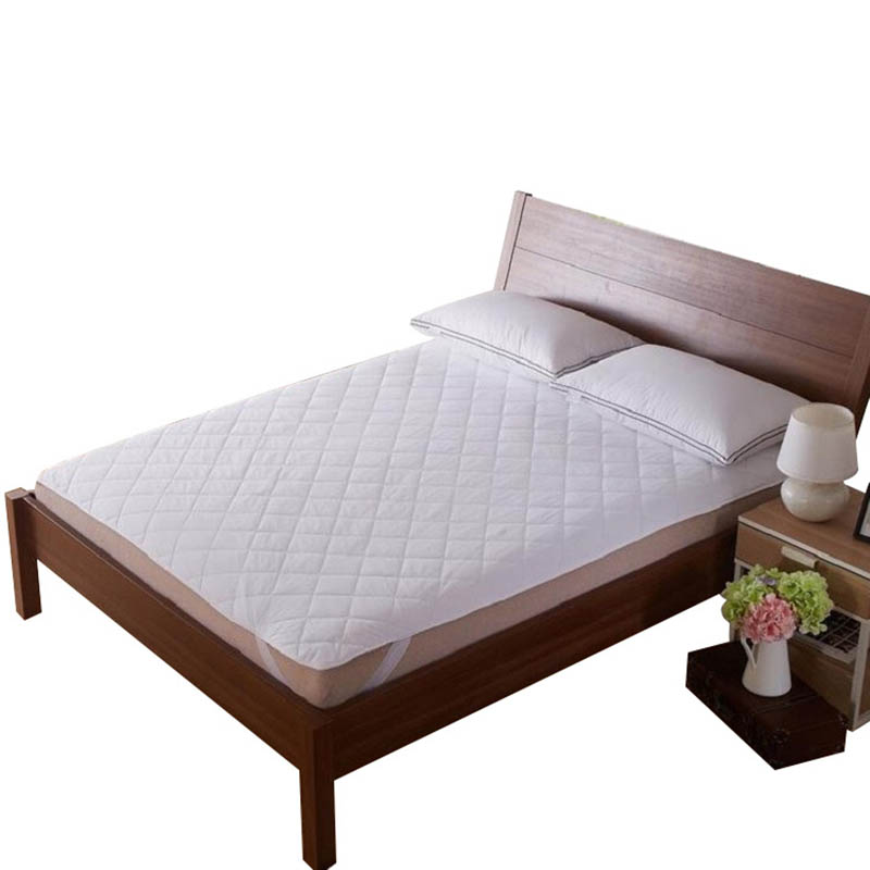 Dropshipping Mattress Pad Cover Protective Fitted Sheet Mattress Cover Stretch Up For Home Hotel P666