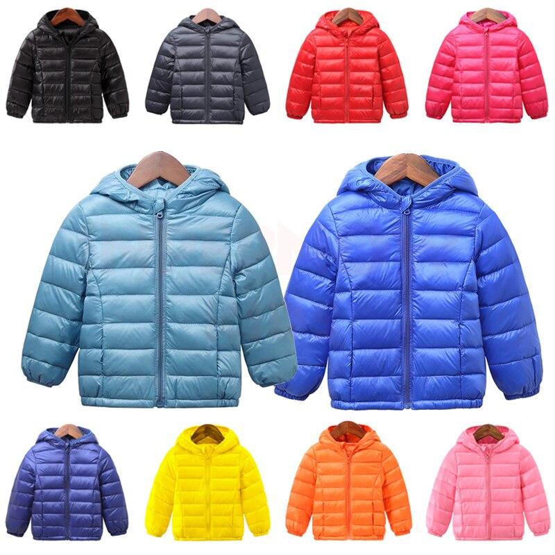 INPEPNOW Children's Down Jacket for Girl Winter Coat Winter Overall for Boy 90% Down Feather Winter Kids Parka for Girls Monkler 1