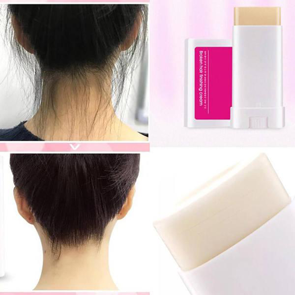 Hair Line Cream Fixing Bangs Control Gel Hairstyle Tool Wax Stick Smooth Broken Non Greasy Hair Finishing Perfect TSLM1 Lasting