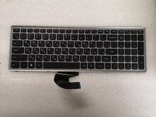 Novo teclado russo preto para lenovo ideapad z500 z500a z500g p500 portátil ru teclado com moldura de prata