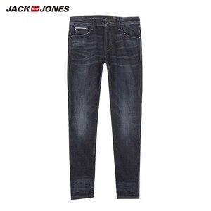 Image 5 - جينز ضيق مطاطي للرجال من JackJones جينز دينم بطراز كلاسيكي على الموضة لعام 219132559