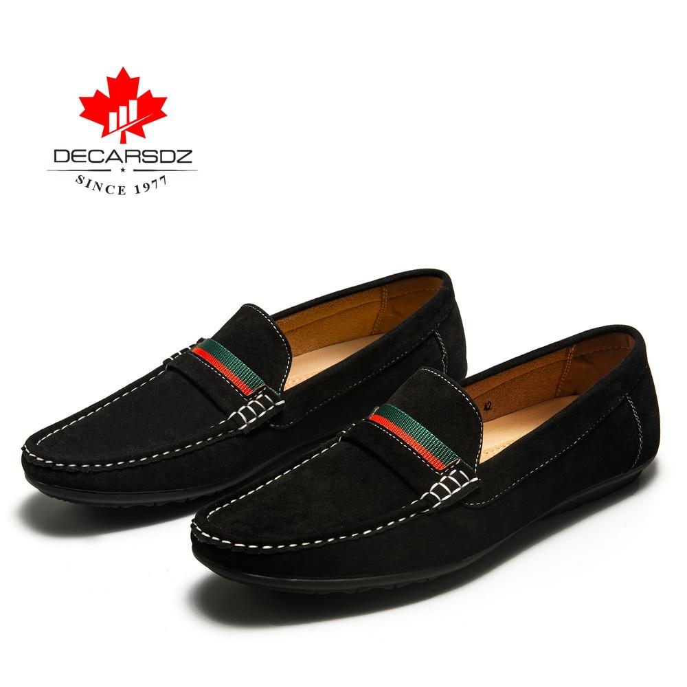 Men Loafers shoes 2020 Autumn Fashion Moccasins Footwear Suede Slip On Brand Men s Shoes Men Innrech Market.com