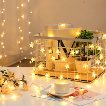 Light String Hanukkah Christmass Twinkly Strings Garland LED Chain Diwali Briliant Lampe Decoration Salon Outdoor Lighting Stars