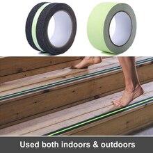 цена PET 5cm*5M  Luminous Anti-slip Safety Tape Home Decoration Warning Non-slip Tape  Luminescent Film Stairs Warning Tape онлайн в 2017 году