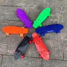 Детский Мини Пенни борд 17 дюймов пластиковый Круизер скейтборд