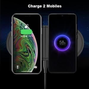 Image 3 - 2 In 1 Fast Wireless Charger PadสำหรับSamsung Galaxy BudsนาฬิกาActive Gear S3 S4กีฬาโทรศัพท์มือถือQIไร้สายชาร์จ