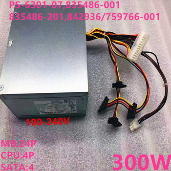 New PSU For HP ATX 300W Power Supply PS-6301-07 835486-001 835486-201 842936-001 759766-001