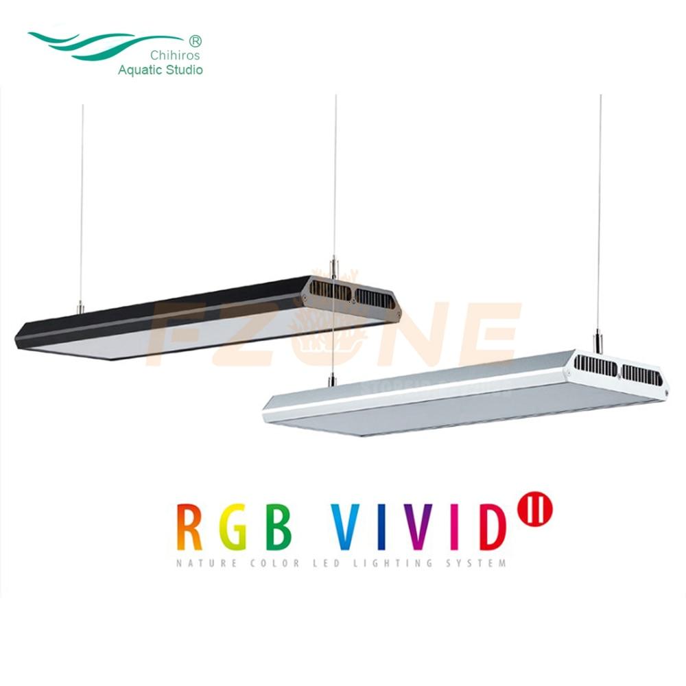 NEW Chihiros VIVID2 Aquarium LED Light RGB Bulit-in Bluetooth App Control Smart Plant LED Lamp Lighting