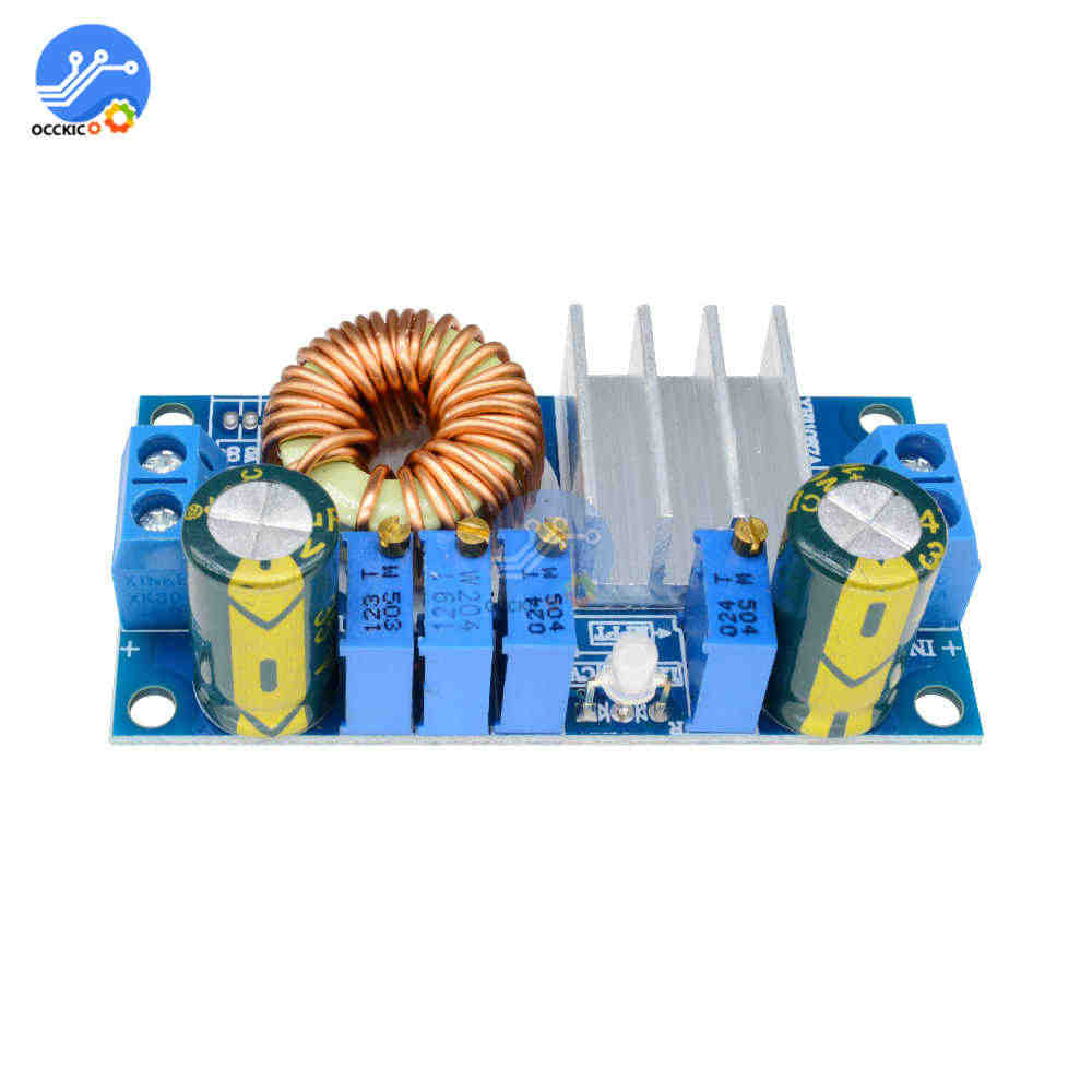 MPPT panneau solaire contrôleur solaire 5A abaisseur chargeur carte Buck convertisseur Module courant tension de charge pour Arduino