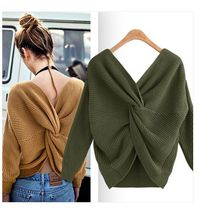 цена Womens sweaters 2019 kardigan sweater v neck long cardigan knit   sweater women chunky cashmere autumn clothes vesten vrouwen co в интернет-магазинах