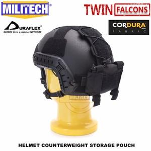 Image 2 - Militech twinfalcons twヘルメットカウンターウェイトバッテリー収納ポーチ収納ポーチ戦術的な軍事nvg重量カウンターポーチバッグ