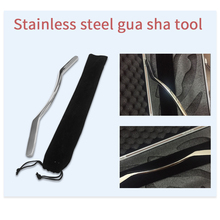 gua sha  massager health acupuncture Stainless Steel massage tools foot guasha cupping back