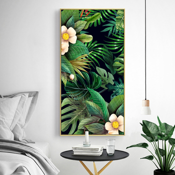 Green Leaves Wall Art Canvas Painting Green Style Plant Nordic Posters and Prints Wall Art Poster Pictures For living Room 5-19 green leaves wall art canvas painting green style plant nordic posters and prints wall art poster pictures for living room 5 19