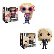 Funko-figuras de acción de Harry Potter, Luna Lovegood con gafas, 41 #14 #, juguete de Pvc, figuras de colección de 10CM, modelo de Juguetes