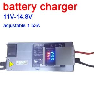 Напряжение тока Регулируемый Lifepo4 литий-полимерный литий-ионный Батарея Зарядное устройство зарядки 4,2 V 8,4 V 11V 12,6 V 14,6 V 14,8 V 75A 50A 2S 3S 4S
