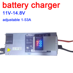 Image 1 - DYKB 3S 4S Lifepo4 Lipo Li ion Lead acid Lithium Battery Charger Charging batteries 12V 12.6 14.6v 50A 75A w VOLT AMP Display