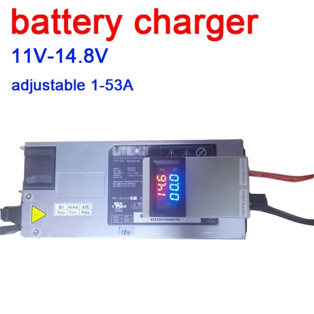 DYKB 3S 4S Lifepo4 Lipo Li ion kurşun asit lityum pil şarj cihazı şarj pilleri 12V 12.6 14.6v 50A 75A w VOLT AMP ekran