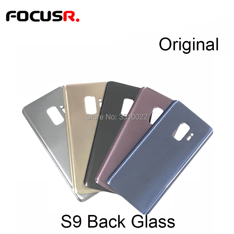 Original <font><b>Back</b></font> Battery Cover Rear Door Housing Case <font><b>Back</b></font> Housing For Samsung S9 <font><b>G960</b></font> S9+ G965 Mobile Phone Housings & Frames image